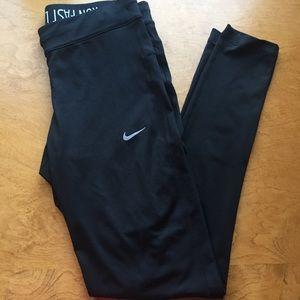 Women's Nike Dry-Fit Black Leggings